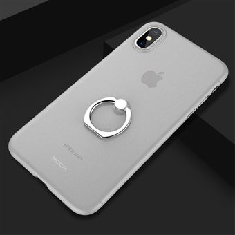 coque avec bague transparante iphone x