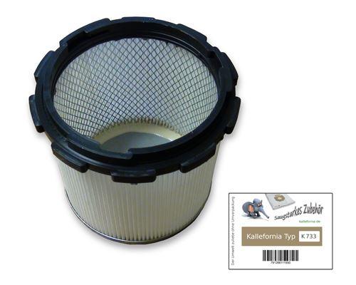 Kallefornia K733 1 filtre pour aspirateur Nilfisk Alto Wap Aero 700 ; 700A