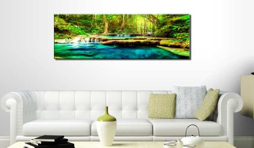 135x45 Tableau Forêt Paysages Chic A Jewel of Nature