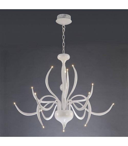 Suspension Llamas 15 Ampoules blanc