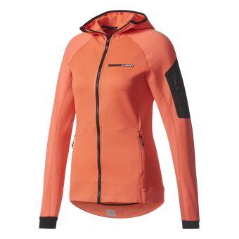 Veste à capuche femme adidas TERREX Stockhorn Fleece 42 Rose - Vestes de  sport - Achat   prix   fnac 524692eed348