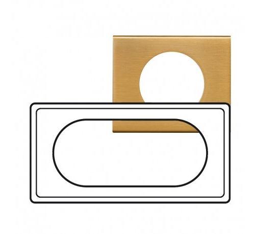 Plaque Céliane Bronze Doré - 4/5 modules