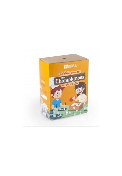kit culture de champignons de Paris pour enfants