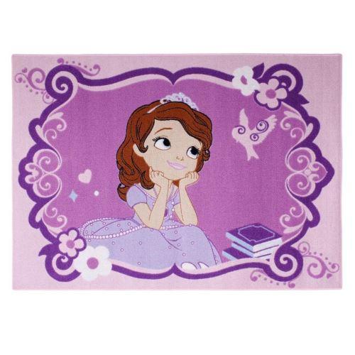 Tapis enfant Princesse Sofia 133 x 95 cm Becoming