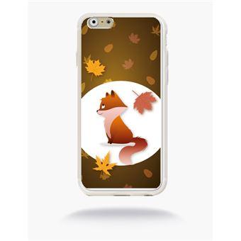 coque iphone 6 silicone renard
