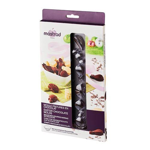 Mastrad - Moule fritures en chocolat - 24 empreintes