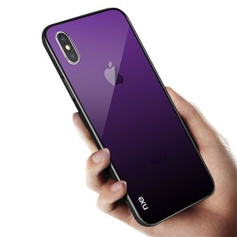 coque apple iphone x violet