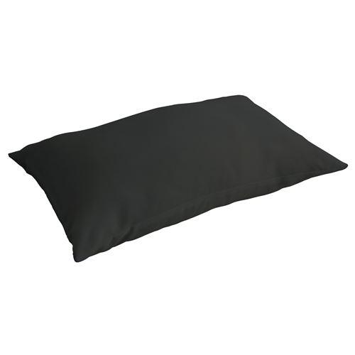 Taie d'oreiller Réglisse - 100% coton 57 fils - 50 x 70 cm - Noir