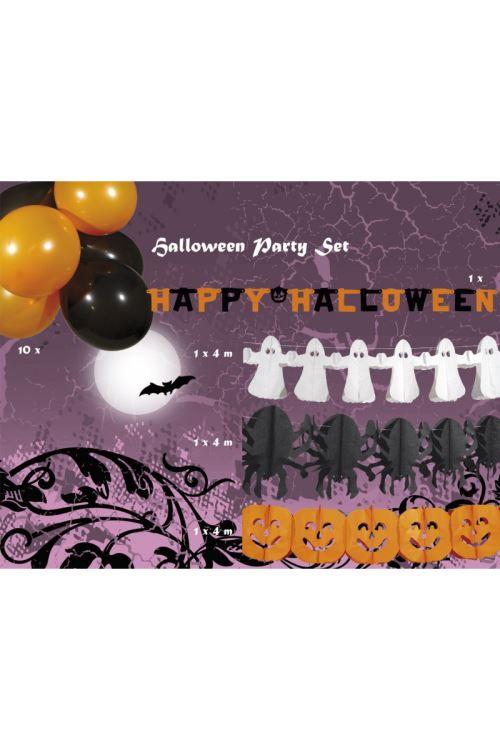Kit Decoration Halloween Vitrine Ignifuge - Polyester