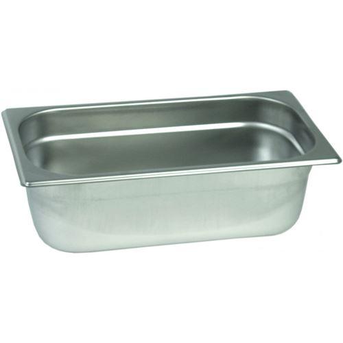 Bac Gastro Inox GN 1/3 - H 20 à 200 mm - Stalgast - 200 mm 70 cl
