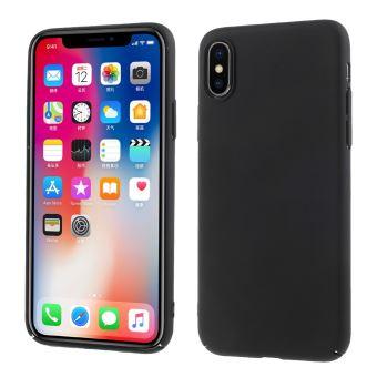 coque iphone x noir mate apple