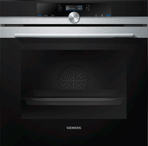 Siemens iQ700 HB675G0S1F - Four - intégrable - niche - largeur : 56 cm - profondeur : 55 cm - hauteur : 58.5 cm - avec système auto-nettoyant - classe A+ - inox