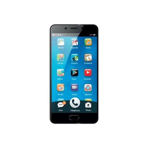 Ordissimo Smartphone débloqué 4G (Ecran: 5,5 pouces - 32 Go - Nano-SIM - Android) Gris