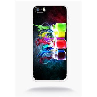 coque iphone 5 abstrait