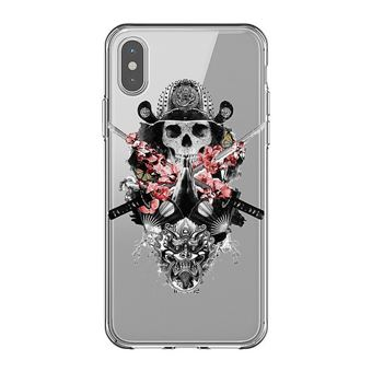 coque iphone xr tete de lion