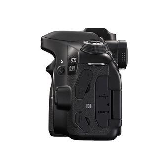 Canon EOS 80D - digitale camera EF-S 18 - 135 mm IS USM-lens