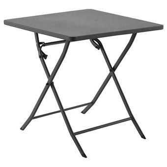 Table carrée Greensboro ardoise - Mobilier de Jardin - Achat & prix ...