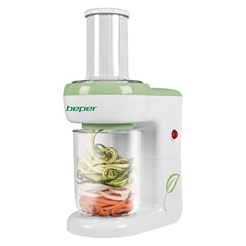 Beper 90200 coupe légumes multifonctionnel - blanc vert