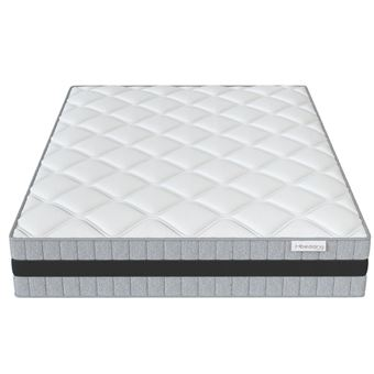 500 sur matelas m moire de forme 140x190 memo luxe hbedding mousse ergonomique haute densit. Black Bedroom Furniture Sets. Home Design Ideas