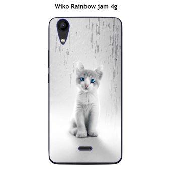 Coque Wiko Rainbow Jam 4G design Felina