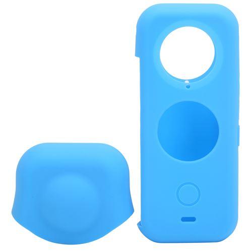 Étui de protection en silicone panoramique pour Insta360 ONE - Bleu