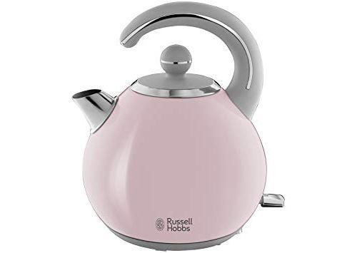 Russell Hobbs Bubble 24402-70 - Bouilloire - 1.5 litres - 2400 Watt - rose pastel/acier inox brillant