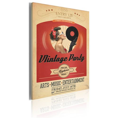 Tableau   Vintage party   50x70   Vintage  