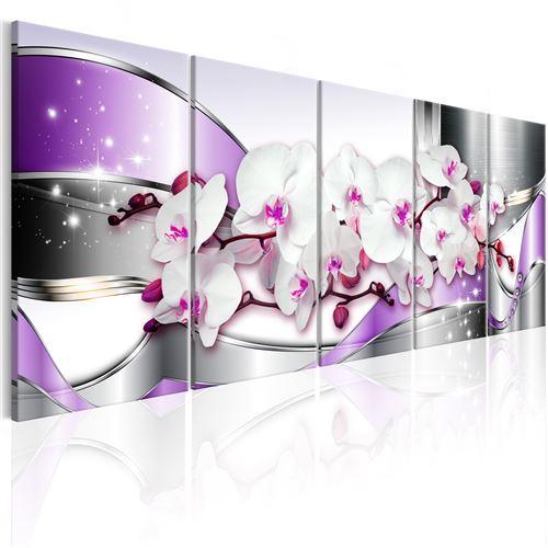 Tableau - purple ribbons - artgeist - 225x90