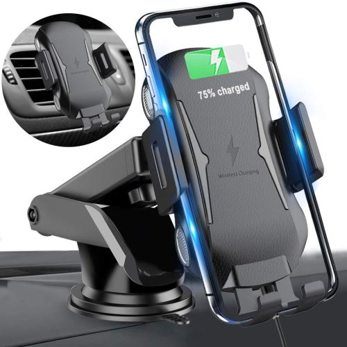 Qi chargeur sans fil à induction rapide avec support et