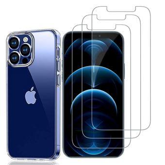 Coque Verre Trempé (Lot de 3) pour iPhone 12 Pro Max (6,7)