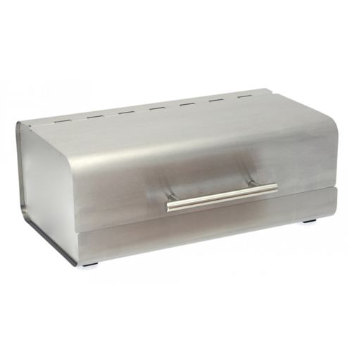 Boîte à Pain Design Rectangulaire 36cm Inox