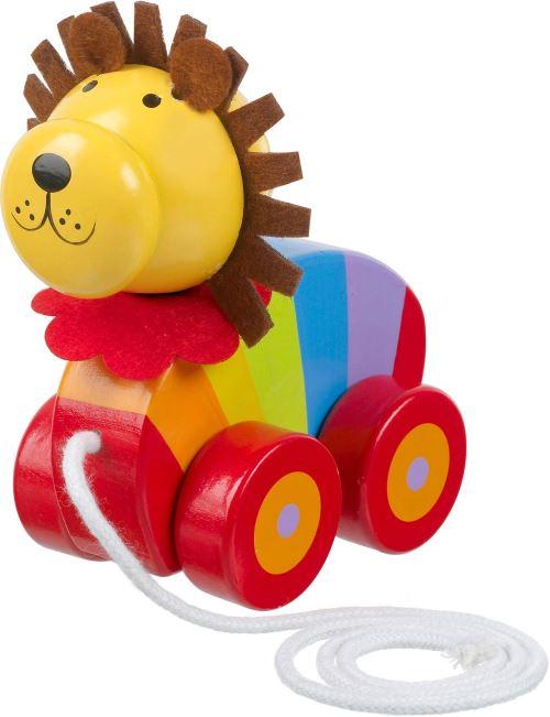 Orange Tree Toy Jouet A Tirer Lion