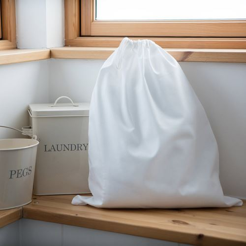 Towel City - Sac à linge (Taille unique) (Blanc) - UTRW5460