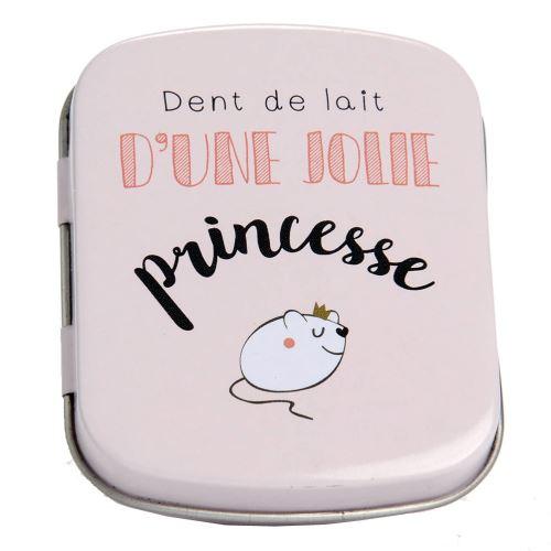Petite boite à dents de lait Princesse