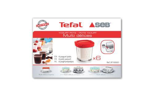 SEB xf100501 Lot de 6 Pots pour yaourti/ère Multi d/élices
