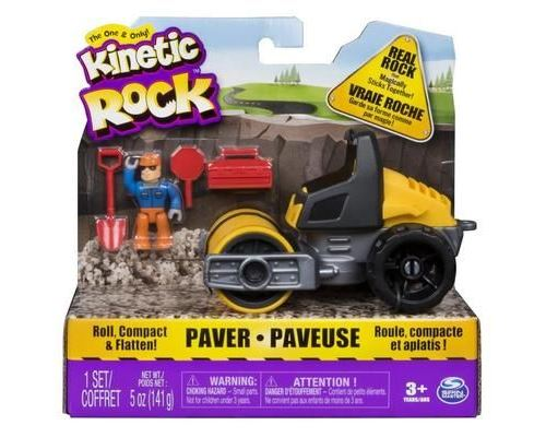 Spin Master Kinetic Rock Vehicle Paver, Multi, 5 année(s), Garçon-Fille, 280 g, 195,6 mm, 73 mm