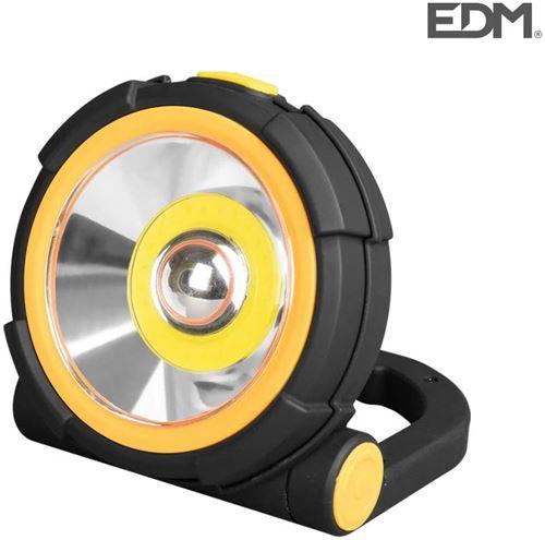 Lampe torche LED 150 lm 2 puissances et lumière d'urgence EDM