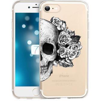 coque iphone 8 transparente fleur