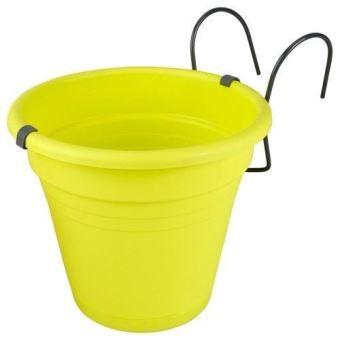 Jardiniere Pot De Fleur Ronde A Accrocher Ou A Suspendre Pour Balcon