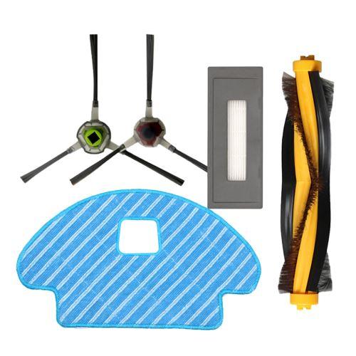 Accessoires Kit de Remplacement Compatible pour Ecovacs 930 Aspirateur Robotique Wenaxibe454