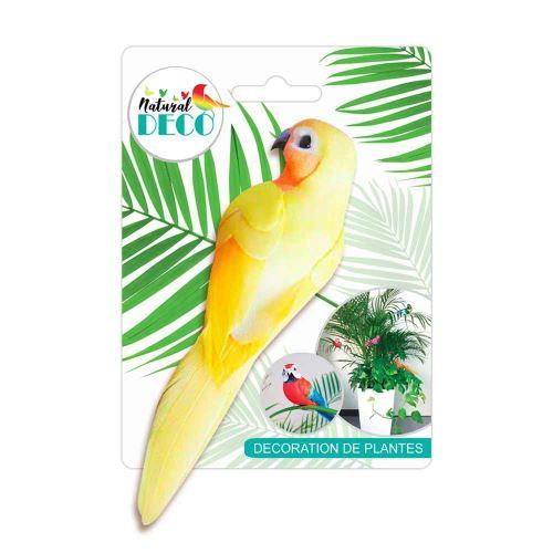 Déco Plantes – Medium Oiseau Jaune CD3828