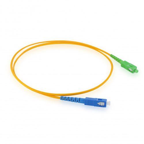 Câble fibre optique Free - monomode 0,8 m - vert et bleu