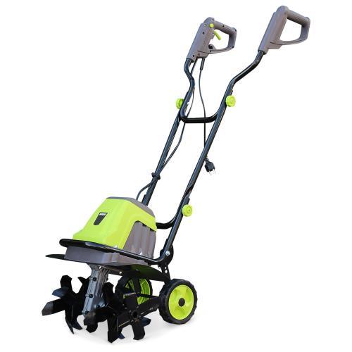 VOLTR - Motobineuse électrique 1400W - 6 fraises et largeur de travail de 40cm, culture de la terre, motoculteur potager
