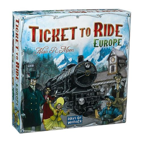 Days of Wonder - Ticket to Ride Europe - jeu de société, jeu de stratégie