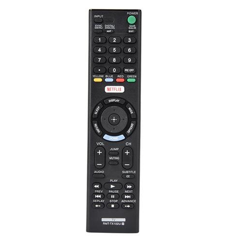 Télécommande de remplacement pour Sony RMT-TX102U RMT-TX100D RMT-TX101J