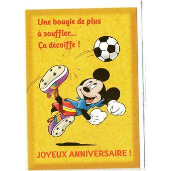 Carte Anniversaire Mickey.Carte D Anniversaire Mickey 13