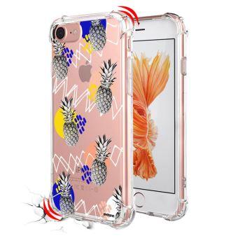 coque iphone 8 transparent ananas