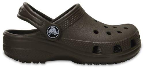 Crocs Classic Enfant Clogs Chaussures Sandales en Chocolate Marron 204536 200 [Child 10] l86o25Y