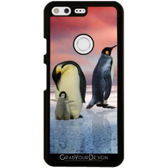 Coque Pour Google Pixel Pingouin Glace Oiseau Animaux