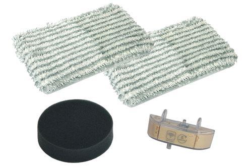 Kit lingettes + filtre + cassette Clean & Steam (293541-24878) Aspirateur ZR005801 ROWENTA - 293541_3221613016005